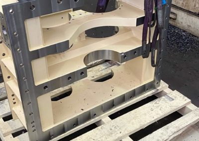 CNC Machining - Gearbox half